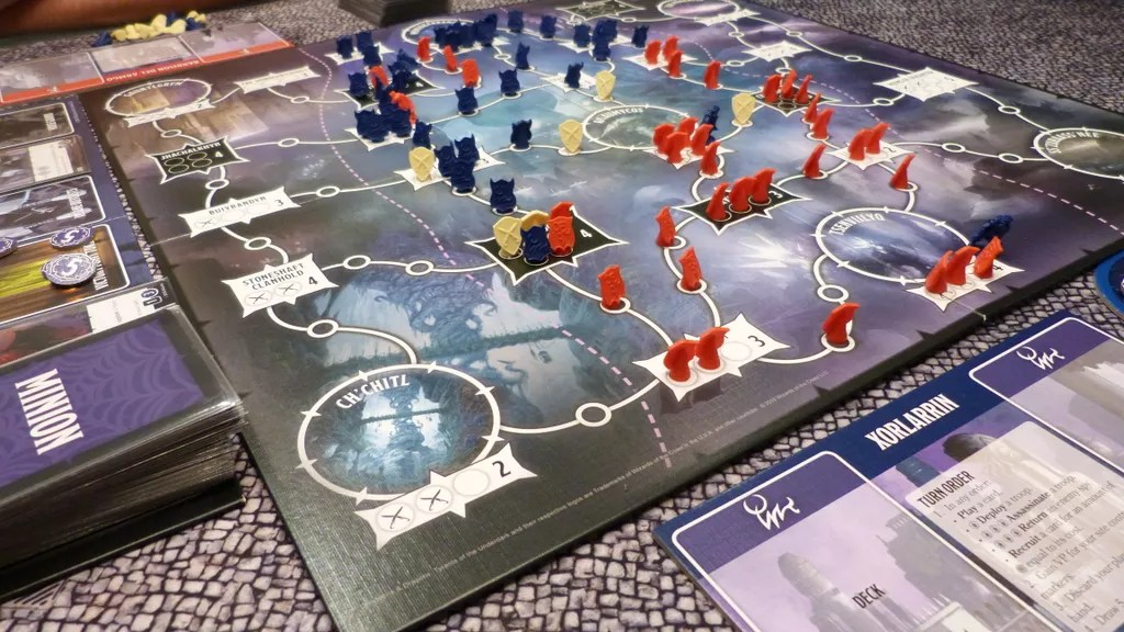 tyrants of the underdark juego de mesa