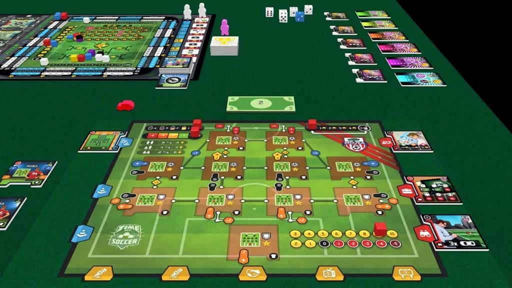 time of soccer juego de mesa