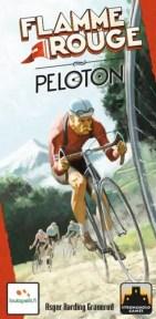Portada de Peloton, expansión para Flamme Rouge