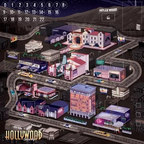 Hollywood Golden Age juego de mesa