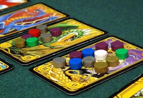 dragon´s gold juego de mesa