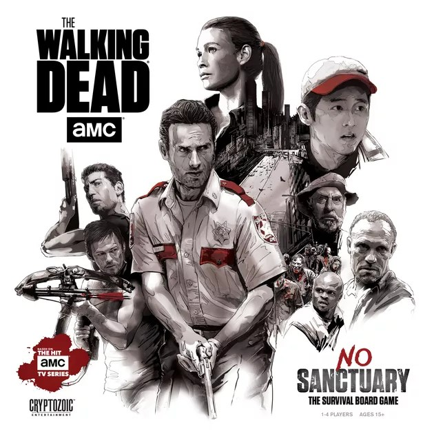 Image result for The Walking Dead: No Sanctuary  board game