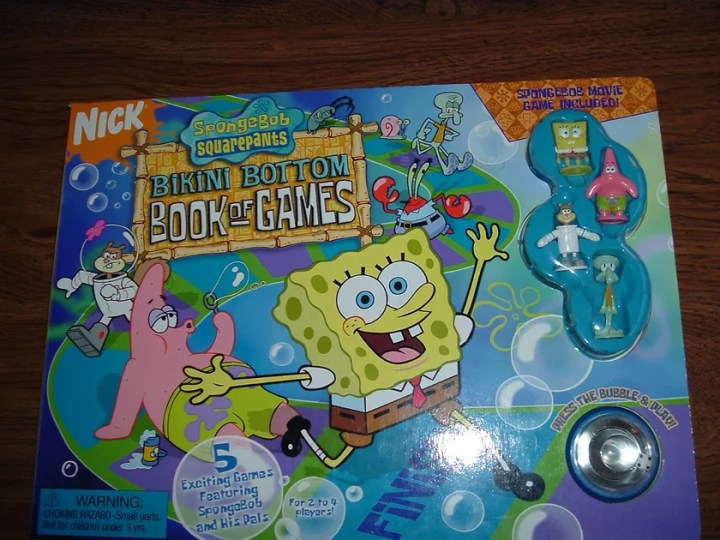 Spongebob Squarepants Bikini Bottom Book of Games   Board Game     Spongebob Squarepants Bikini Bottom Book of Games   Board Game    BoardGameGeek