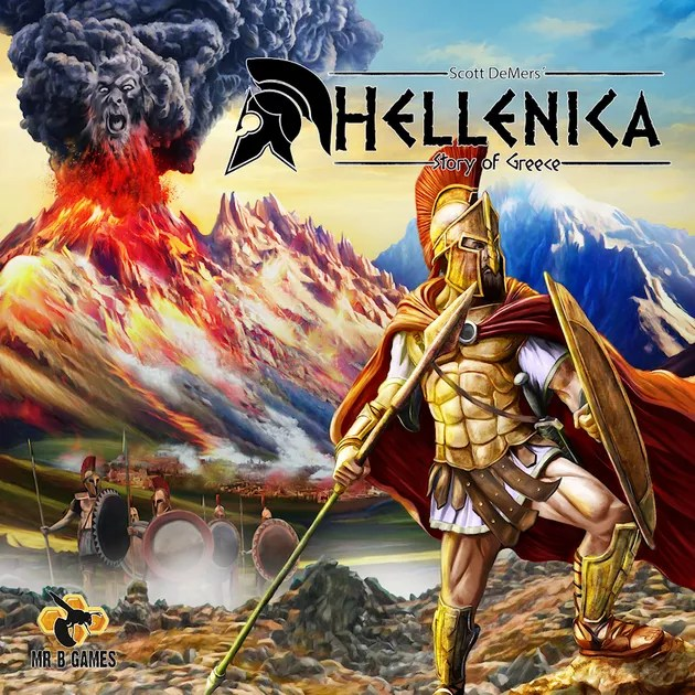 Hellenica  Story of Greece   Board Game   BoardGameGeek