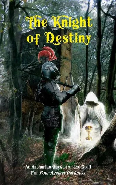 Image result for four against darkness the knight of destiny