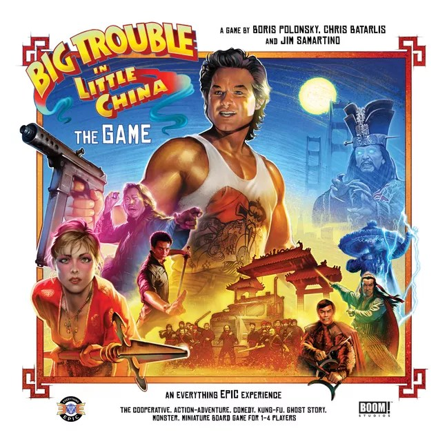 Image result for big trouble in little china board game