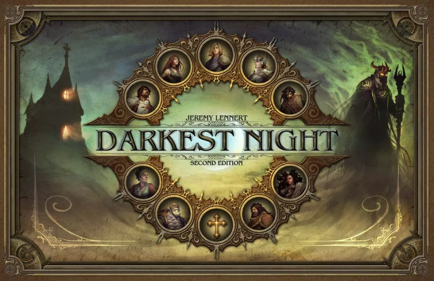 Image result for Darkest Night 2E board game