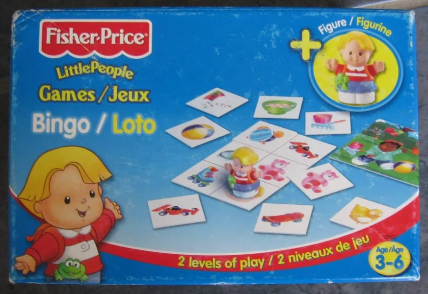 Little People Bingo   Board Game   BoardGameGeek