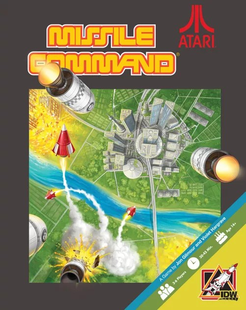 Image result for Missile Command board game