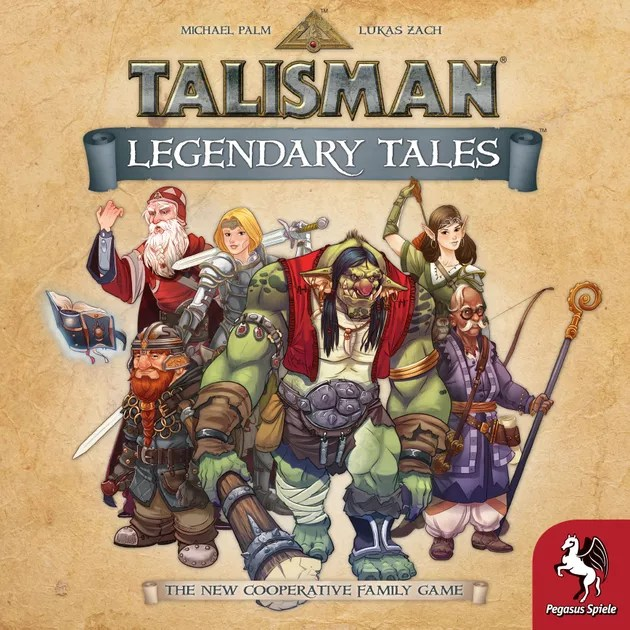 Image result for Talisman: Legendary Tales