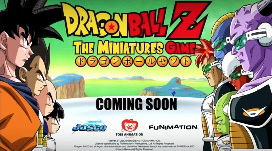 Dragon Ball Z  The Miniatures Game   Board Game   BoardGameGeek