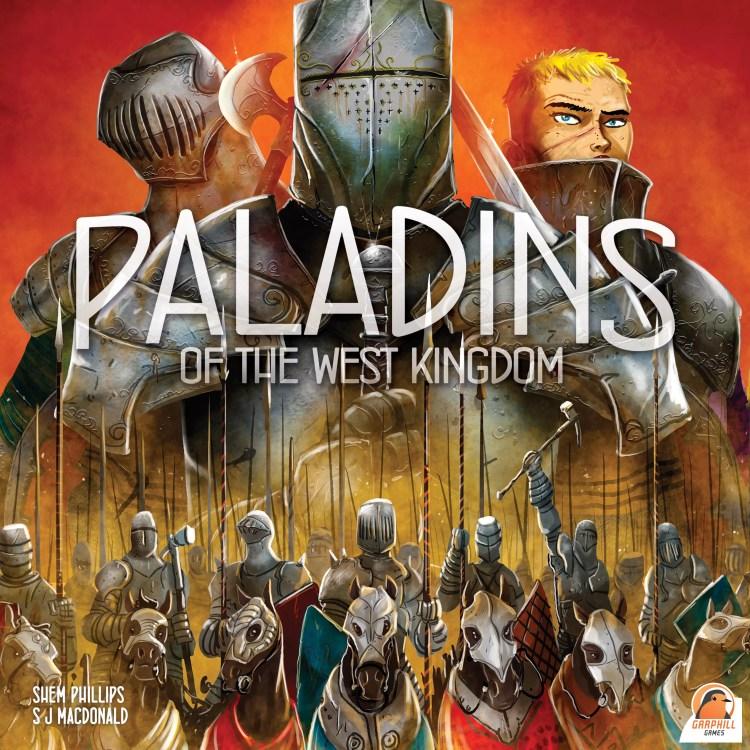 Paladines del Reino del Oeste Portada Inglés