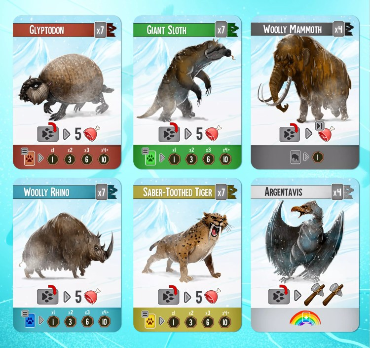 Endless Winter Animales