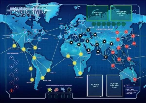 Peta Pandemic