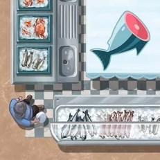Pescadera - Mercado de lisboa