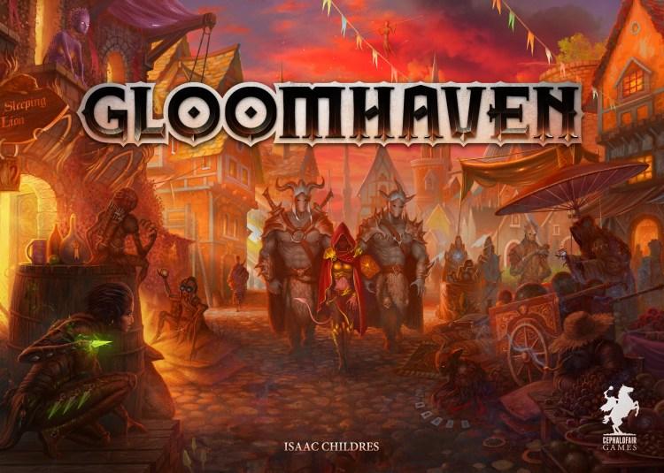 Tabletop simulator top 6 - Gloomhaven