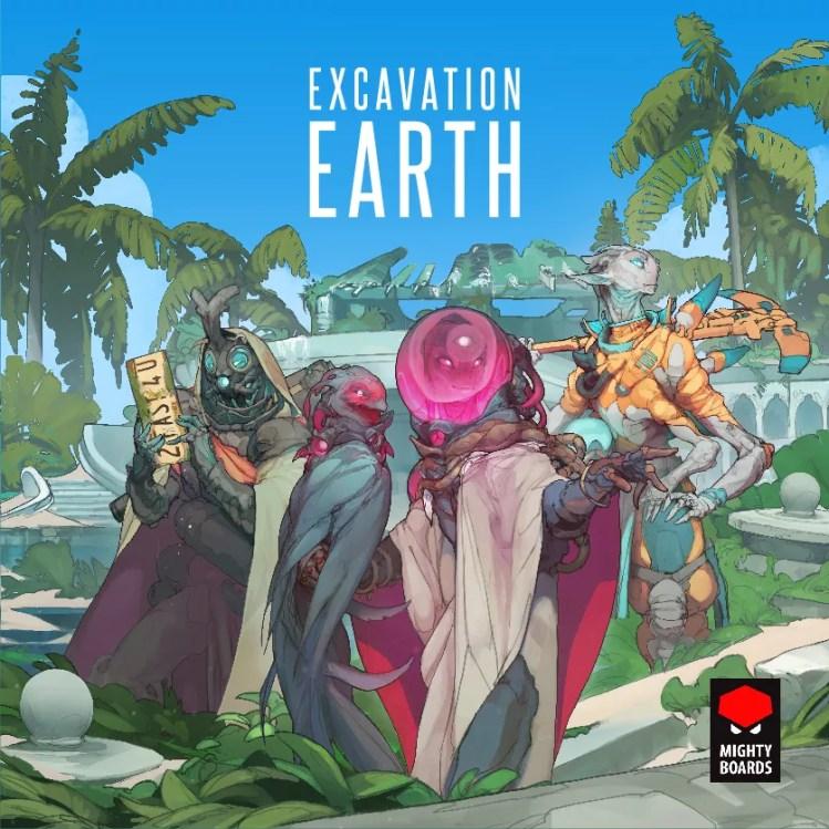 Excavation Earth - Kickstarter