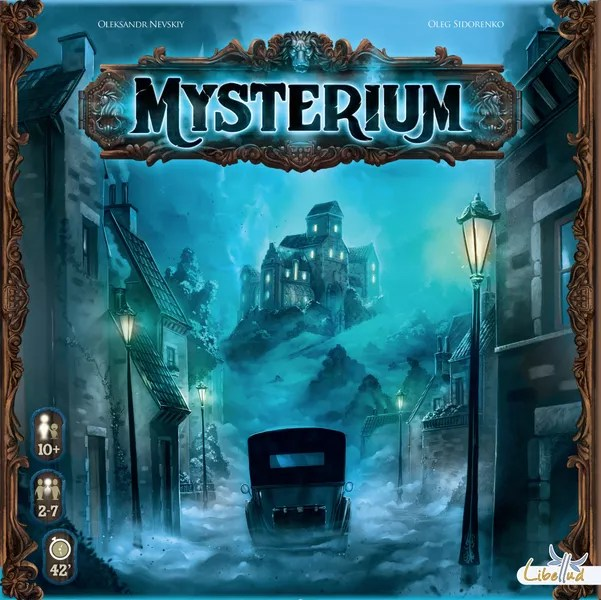 Mysterium, Libellud, 2015 (image provided by the publisher)