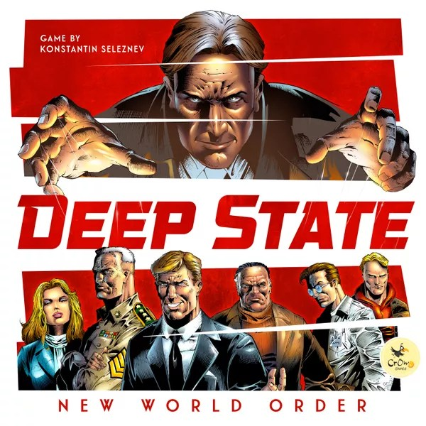 Deep State: New World Order - official game box