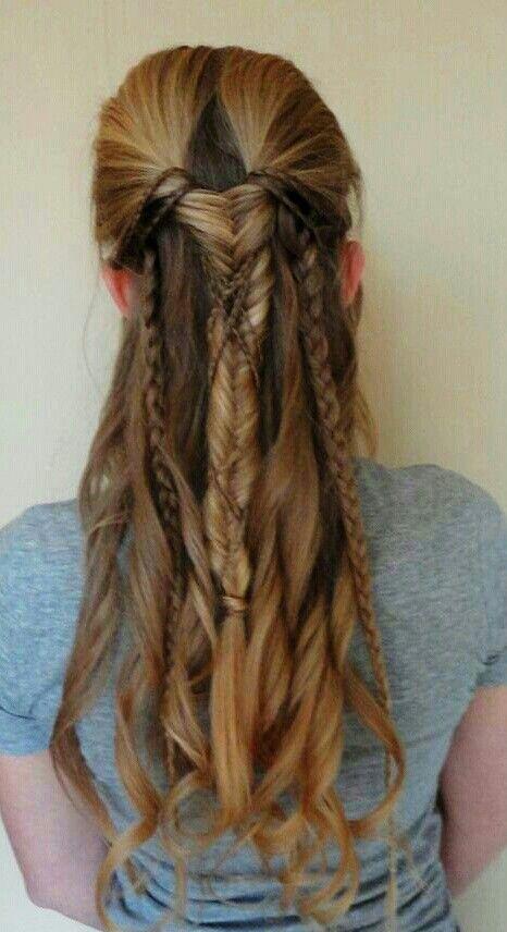 Viking Inspired Spring Hairstyles GirlsAskGuys