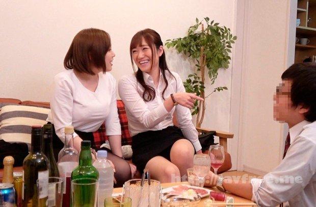 [HD][DVDMS-608] 一般男女ドキュメントAV ほろ酔い爆乳女部下たちと宅飲み→逆セクハラ→朝まで中出し(立場逆転)