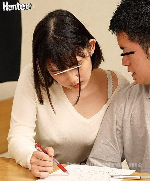 [HD][HUNTA-955] 親が付けてくれた家庭教師がとにかく巨乳過ぎてエロ過ぎ!いつも谷間が見える服を着ているから大きな胸が気になって勉強に集中できない!我慢できず…