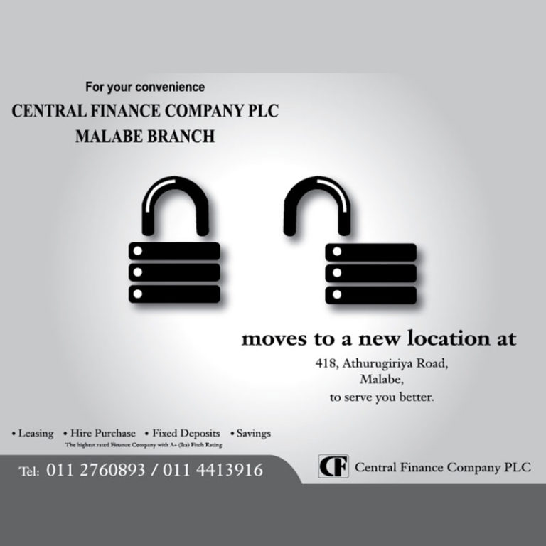 Central Finance branch opening