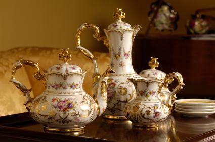 Image result for antique tea set