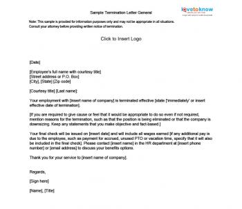 business termination letters