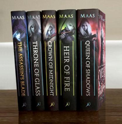 Image result for throne of glass books
