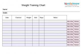 gym session plan template