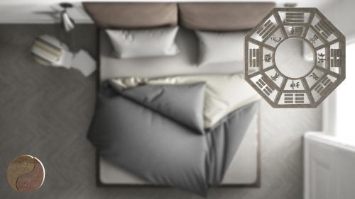 Phong thủy phòng ngủ góc cao