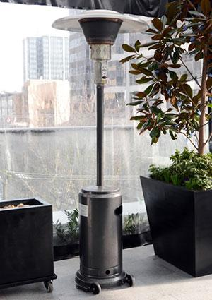 types of patio heaters lovetoknow