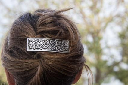 Styles With Celtic Barrettes LoveToKnow