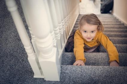 How To Choose The Best Carpet For Your Stairs Lovetoknow | Best Carpet For High Traffic Stairs | Floor | Stairway Carpet | Stair Treads | Staircase | Hallway
