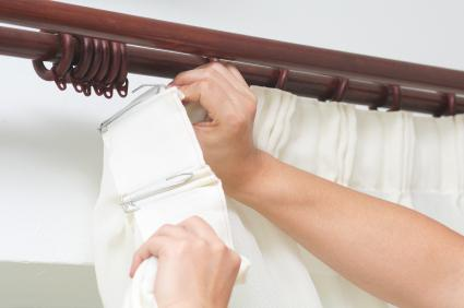 tension curtain rods what are they