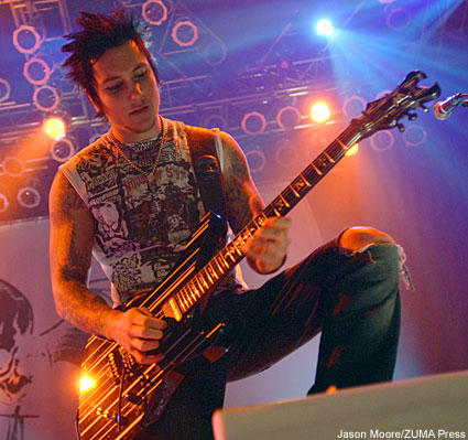 Syn Gates wearing tshirt from his clothing