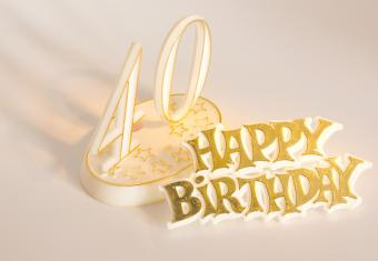 invitation wording for 40th birthday