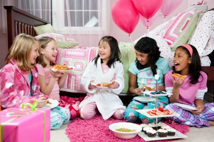 slumber party theme ideas lovetoknow