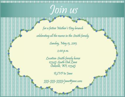 invitations for mother s day lovetoknow