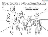 halloween safety activities printables