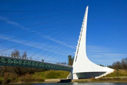 Sundial Bridge, Redding, California