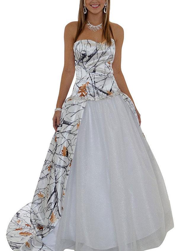 Image Result For Camouflage Wedding Dresses