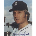 Bill Slayback autographed 8x10 Photo (Detroit Tigers)