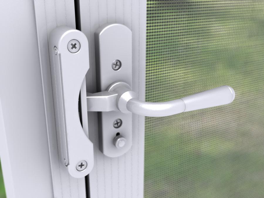 door lever handles for in swing screen