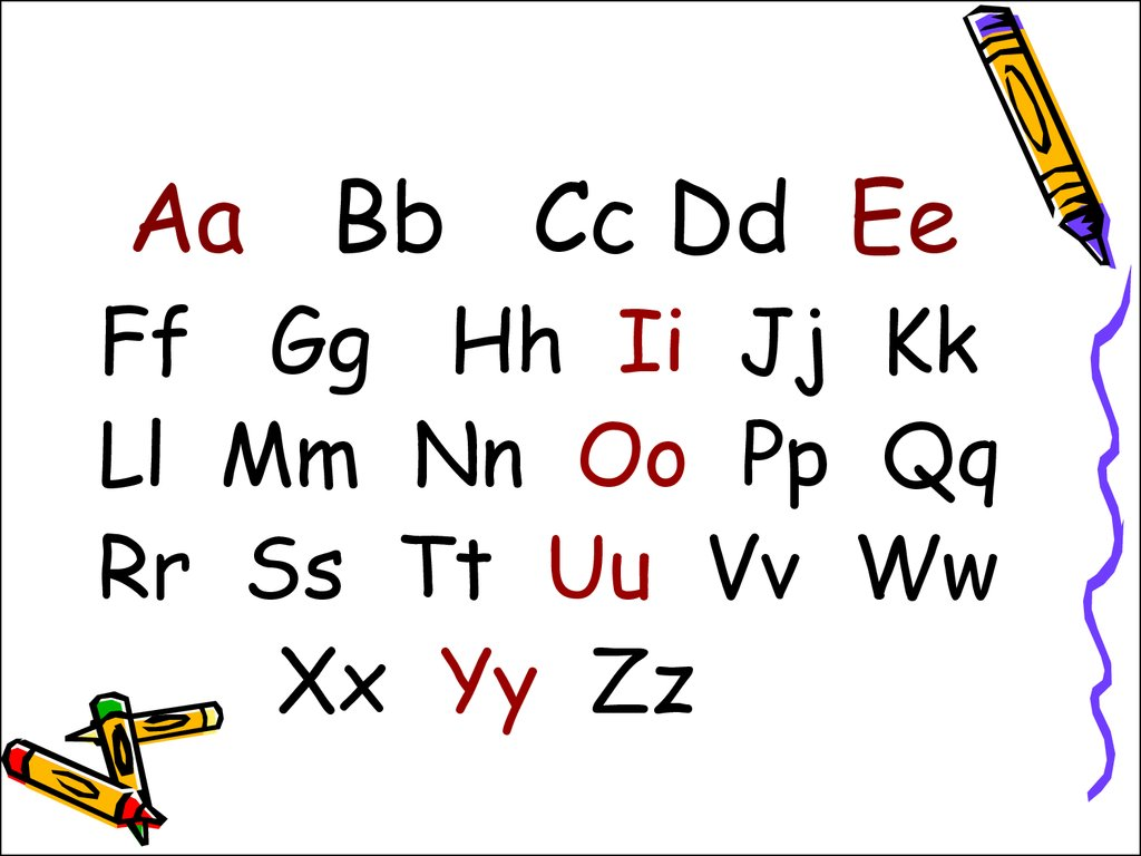 26 Letters Phonics Worksheet