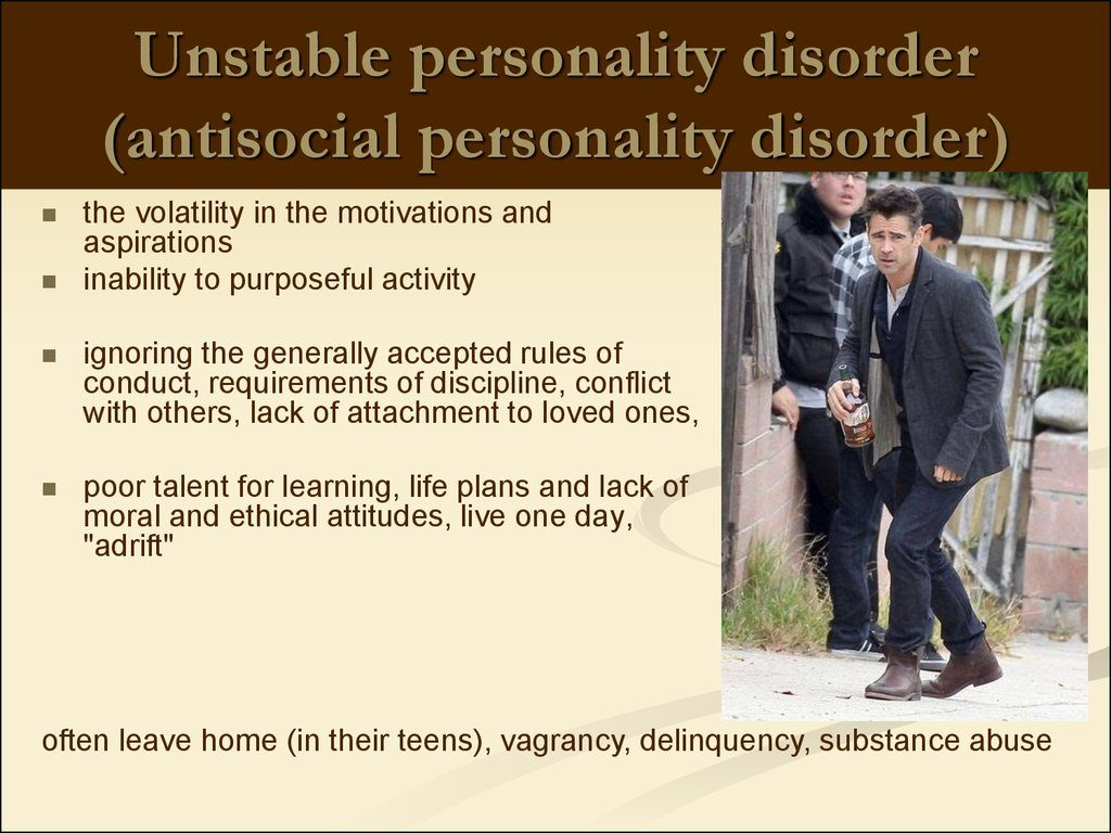 Disorders Of Personality And Behavior In Adult