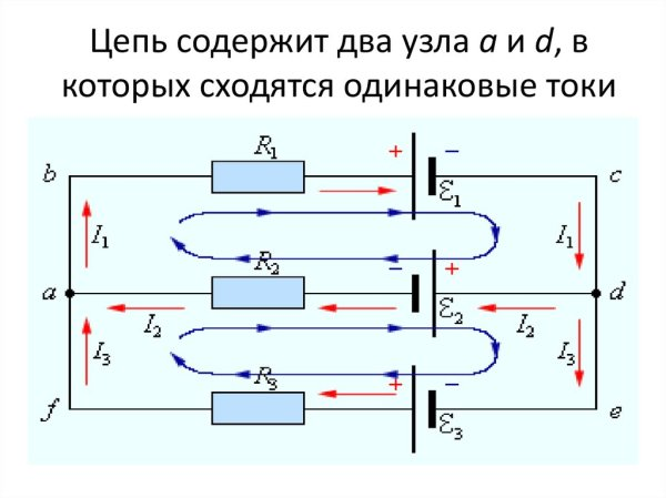 Законы Кирхгофа - презентация онлайн
