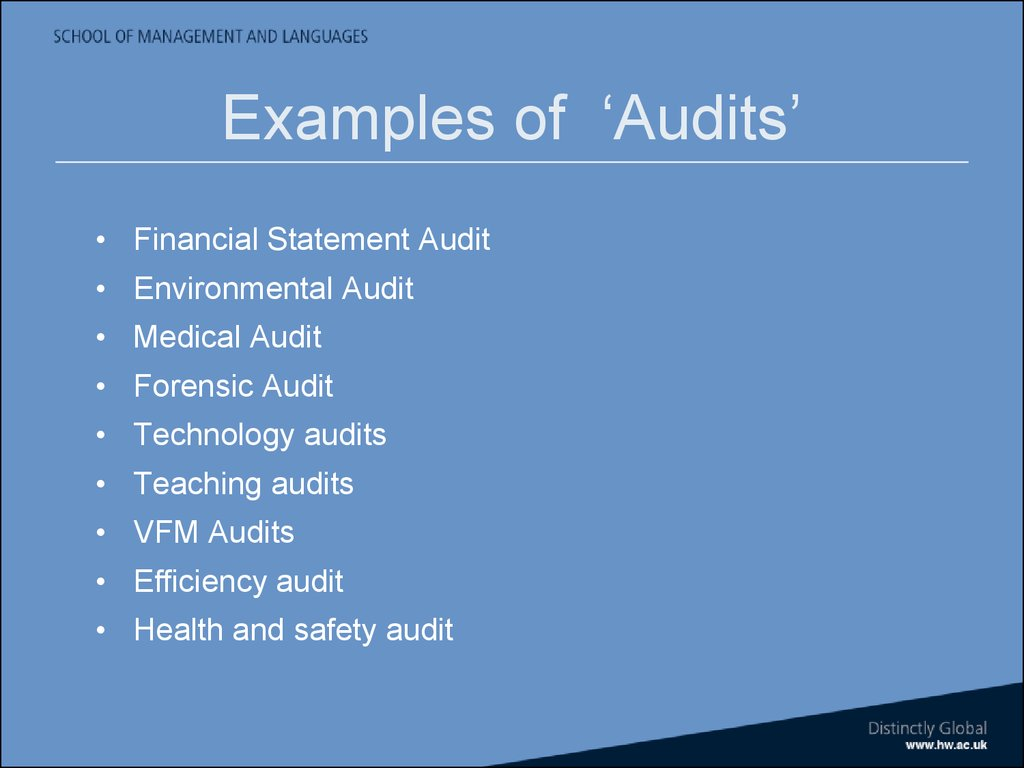 Auditing Amp Assurance Introduction To Course