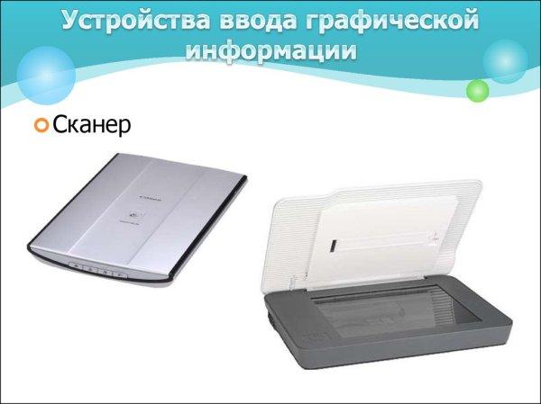 Устройства ввода-вывода текстовой и графической информации ...